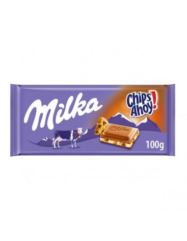 Milka piimašokolaad Chips Ahoy! 100g