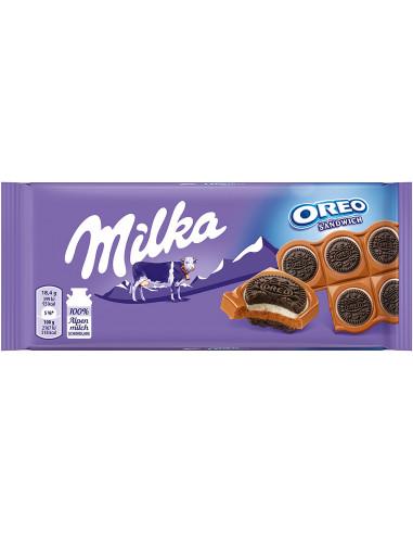 Milka piimašokolaad Oreo küpsisega 92g