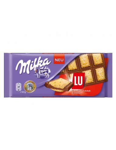 Milka piimašokolaad LU 87g