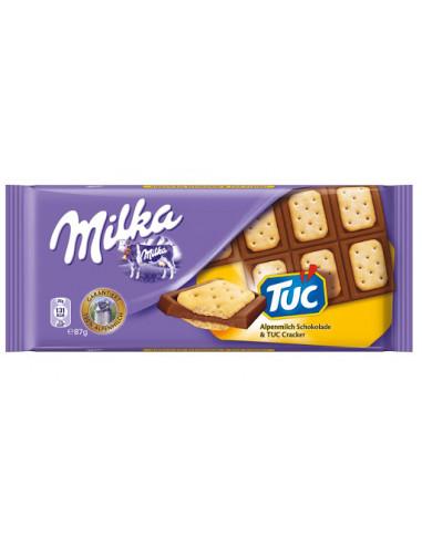 Milka piimašokolaad TUC 87g