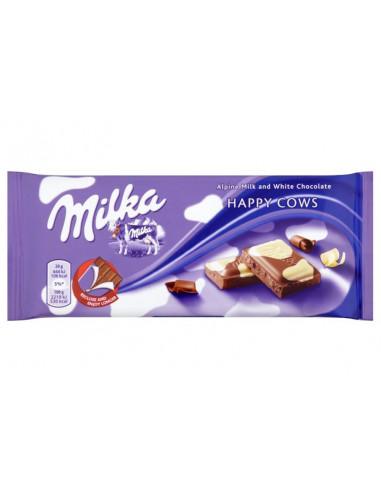 Milka piima- ja valge šokolaadi segu...