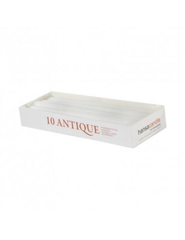 Hansa Candle antiikküünal 24,5cm 10tk...