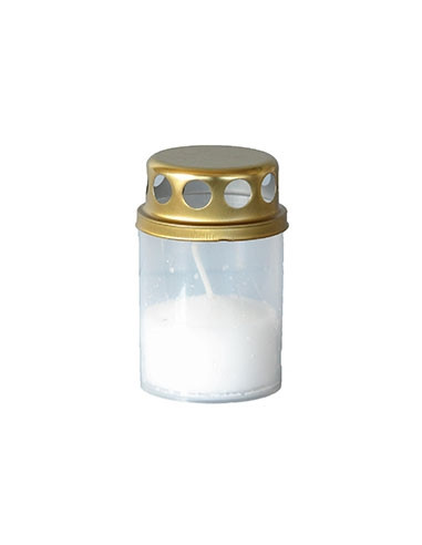 Hansa Candle hauaküünal 8h valge