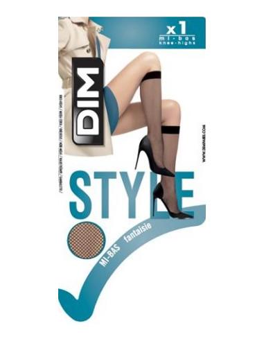 """Naiste võrkpõlvik Dim """"Style"""" Resille"""