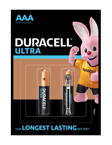 Duracell patarei Ultra AAA/MN2400 2tk.