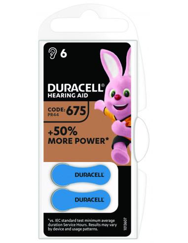 Duracell kuuldeaparaadile 675 6tk.