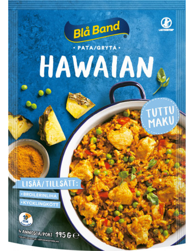 KAST 11tk! Blå Band Hawai pajaroog...