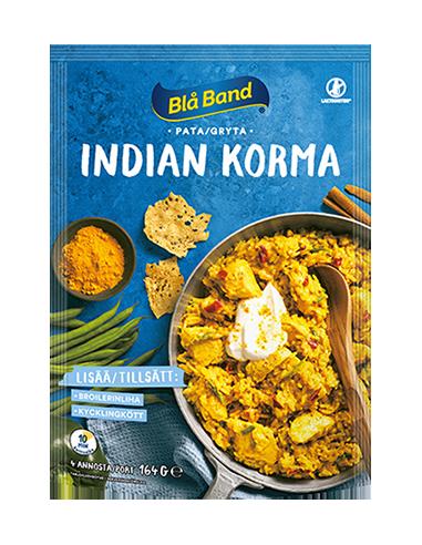 KAST 11tk! Blå Band Indian Korma...