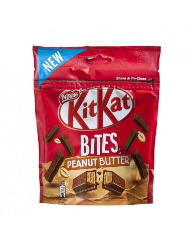 KAST 10tk! KitKat Bites Peanut 104g