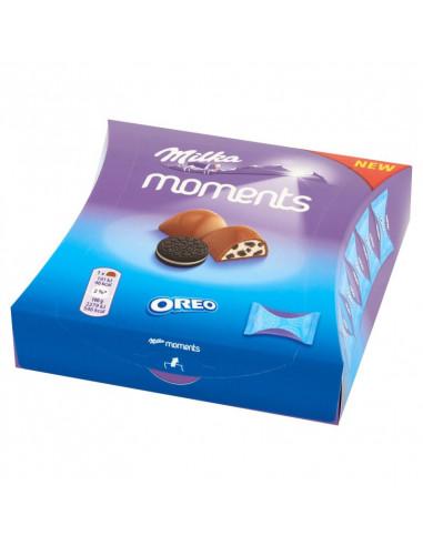 KAST 16 tk! Milka Moments Oreo 92g