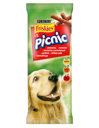 KAST 32tk! FRISKIES Picnic Dog,...
