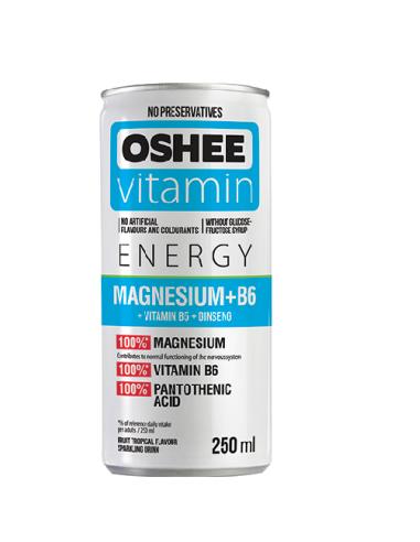 Oshee (24 tk pakendis ) Vitaminiseeritud Jook Mag+B6+B5 250ml+PANT