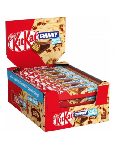 KAST 24tk! KitKat Chunky Cookie Dough...