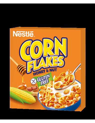 Nestle Corn Flakes Honey/Nuts 300g