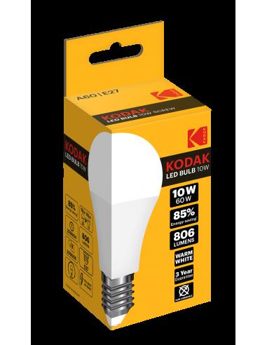 Kodak LED 10W (60W) E27 soe valge A60...