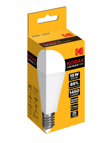 Kodak LED 15W (100W) E27 soe valge...