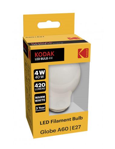 Kodak LED Filament 4W (40W) E27 soe...