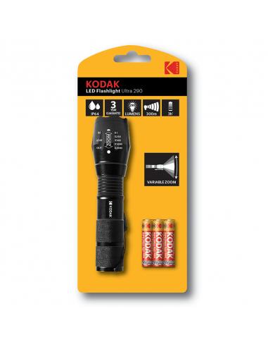 Kodak taskulamp Ultra290 +3AAA, 300m...