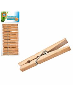 Ravi pesulõksud bambus, 12...