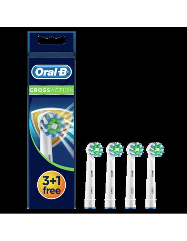 EB50 3+1tk. Braun Oral-B Cross Action...