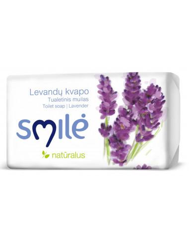 Tualettseep Smile lavendel 90g