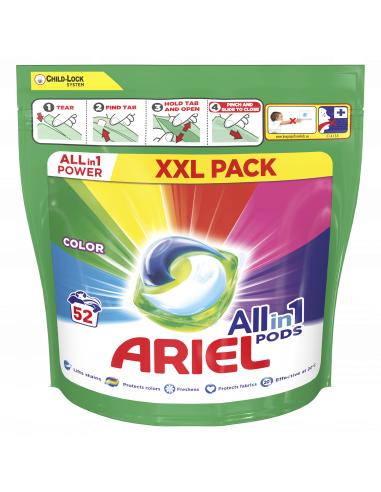 KAST 2 tk! Ariel All-in-1 PODS Colour...