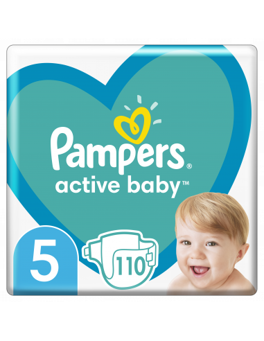 Pampers Active Baby, Suurus 5, 110...