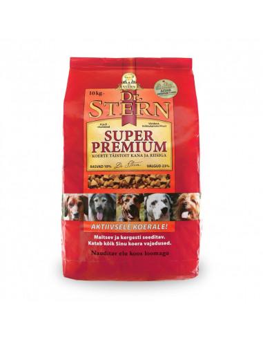 Dr.Stern Super Premium kuivtoit kana ja riisiga 10kg