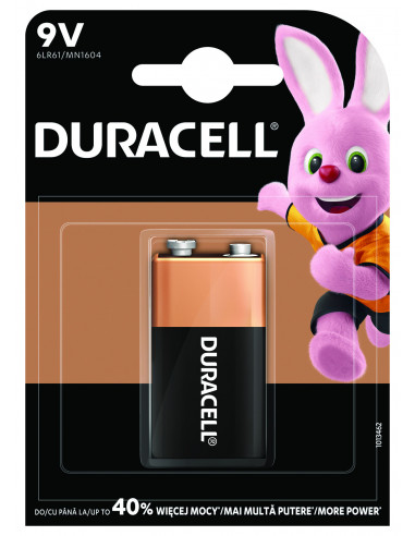 Duracell patarei 9V/MN1604 1tk.