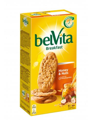 Belvita küpsised pähklite ja meega 300g