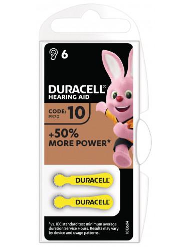 Duracell kuuldeaparaadile 10 6tk.