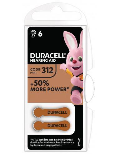 Duracell kuuldeaparaadile 312 6tk.