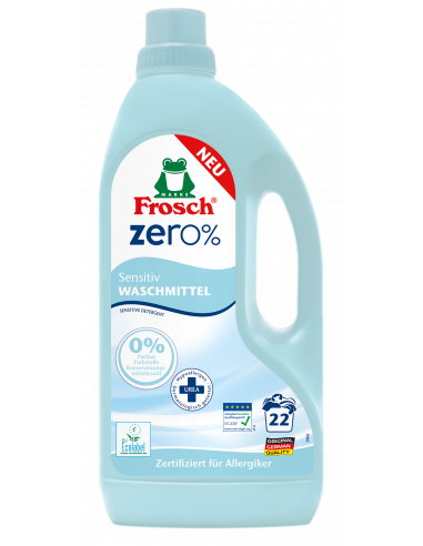 Pesupesemisgeel Frosch Zero% 1,5 L