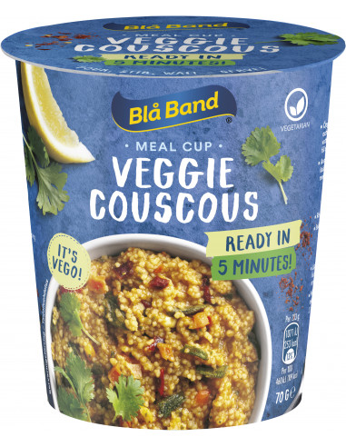 Blå Band Veggie Couscous topsiroog 70g