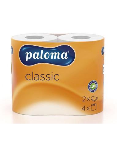 Paloma tualettpaber Classic valge  4...
