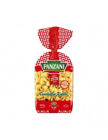 Panzani Conchiglie Rigate makaronid 500g