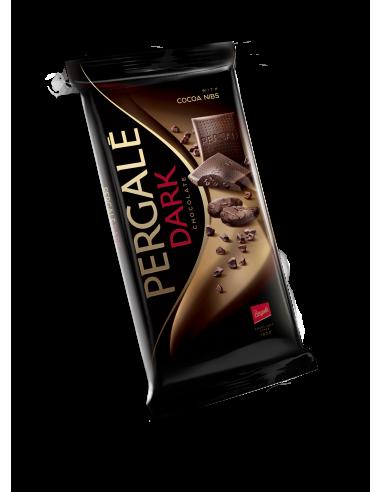 PERGALE Tume šokolaad kakao tükkidega...