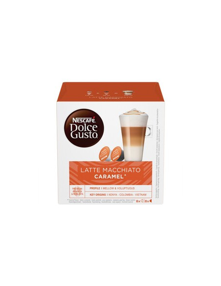 """NESCAFÉ® Dolce Gusto """"Caramel Latte Macchiato"""", 8 + 8 tk"""