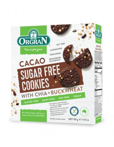 ORGRAN suhkruvabad kakaoküpsised chia...